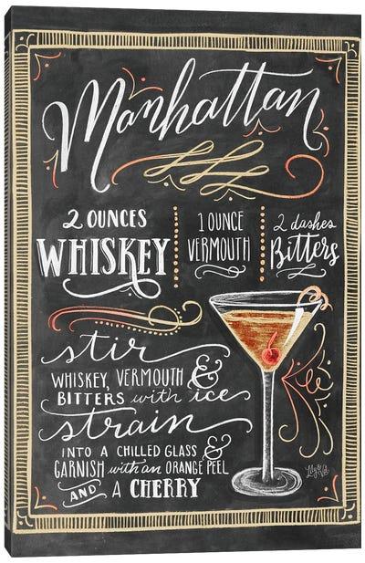 Manhattan Recipe Canvas Art Print