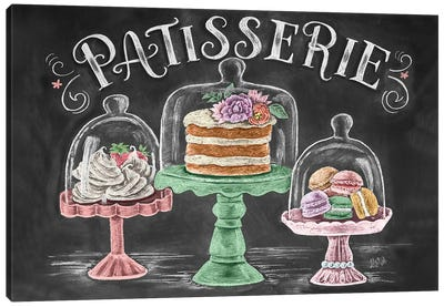 Patisserie Canvas Art Print