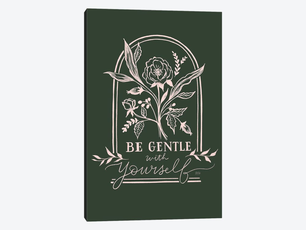 Be Gentle With Yourself by Lily & Val 1-piece Canvas Art Print