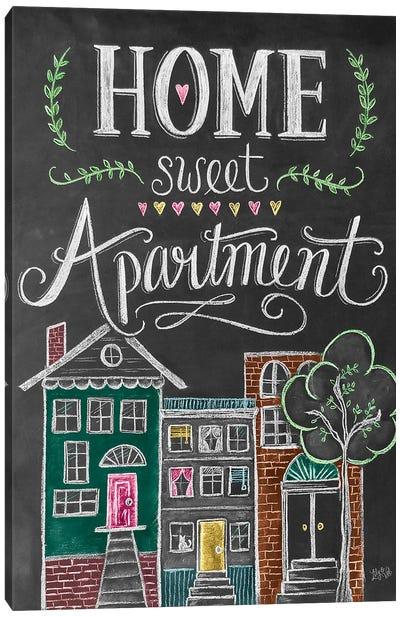 Home Sweet Apartment Canvas Art Print