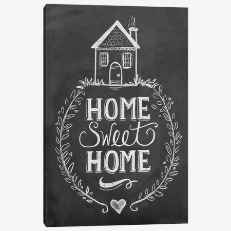 Home Sweet Home Canvas Print #LLV234} by Lily & Val Canvas Art