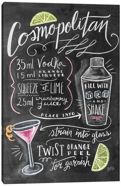 Cosmo Recipe Canvas Art Print
