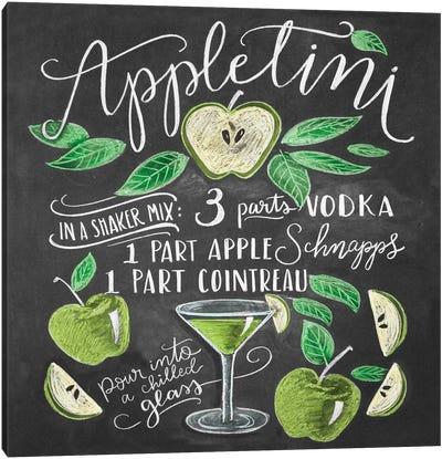 Appletini Recipe Canvas Art Print