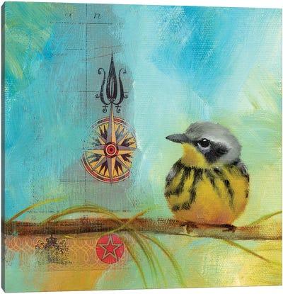 Finch Home II Canvas Art Print