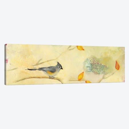 Tufted Titmouse Canvas Print #LLX11} by Lisa Lamoreaux Canvas Art Print