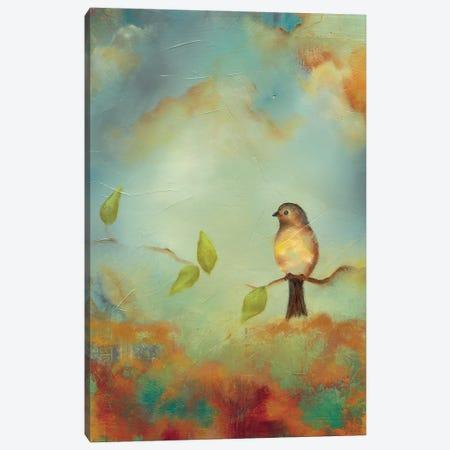 Bird Peace Canvas Print #LLX12} by Lisa Lamoreaux Art Print