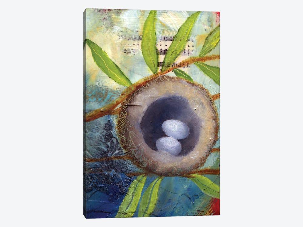 Hummingbird Nest by Lisa Lamoreaux 1-piece Canvas Artwork