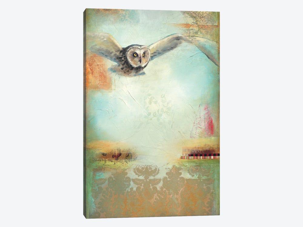 Owl Flight I by Lisa Lamoreaux 1-piece Canvas Art