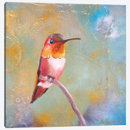 Hummingbird Perch Canvas Print #LLX24} by Lisa Lamoreaux Art Print
