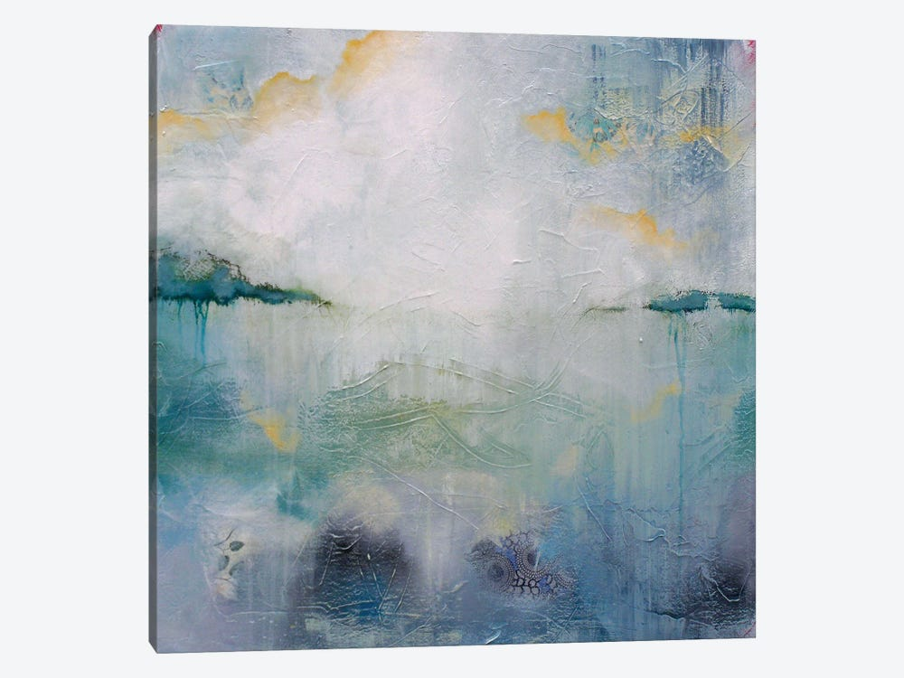 Abstracted Landscape I by Lisa Lamoreaux 1-piece Canvas Art Print