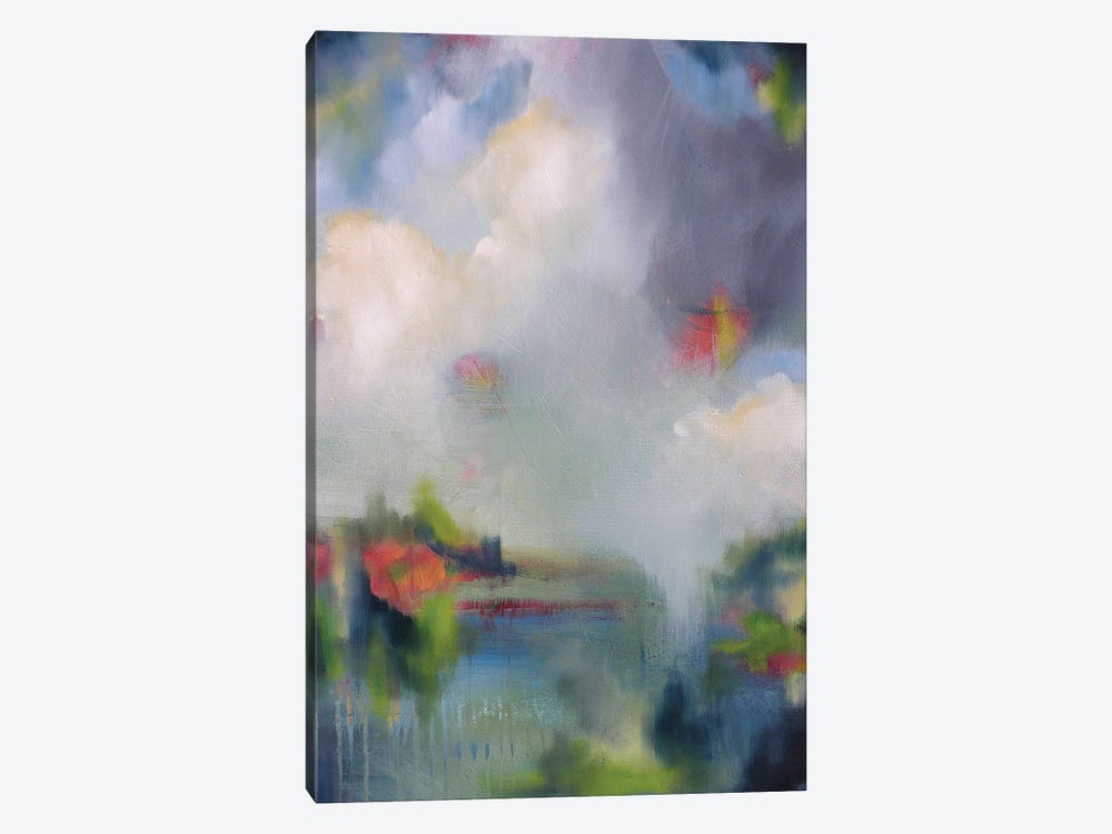 Abstracted Landscape II by Lisa Lamoreaux 1-piece Canvas Artwork