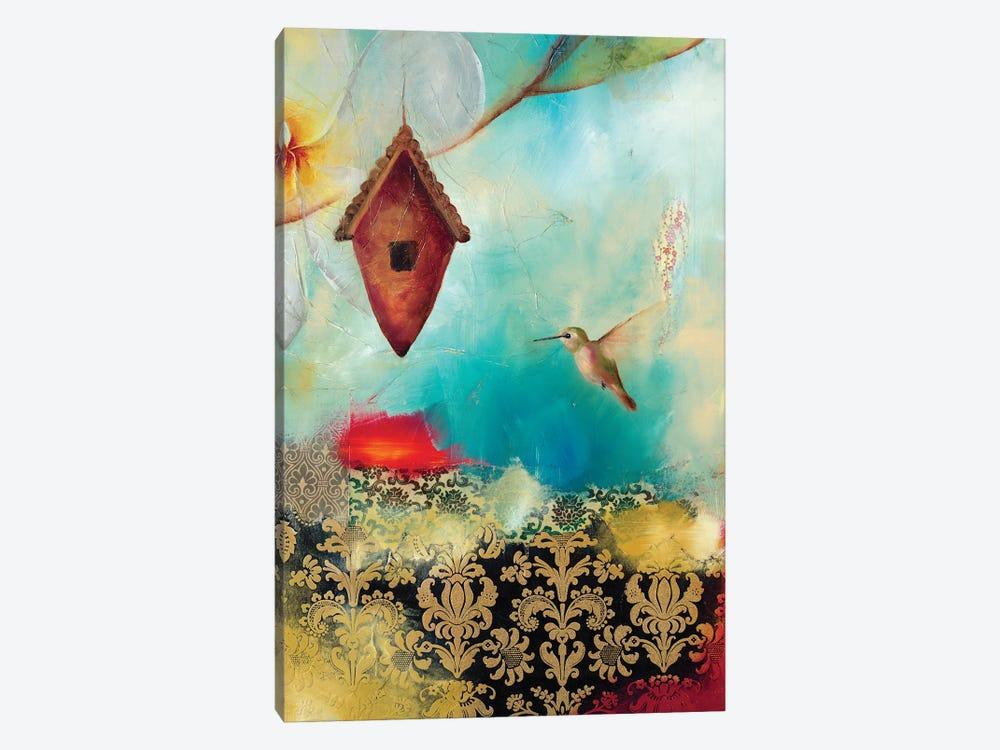 Hummingbird House by Lisa Lamoreaux 1-piece Canvas Art