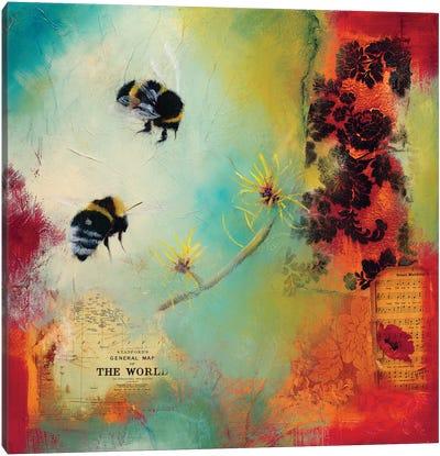 World Bee I Canvas Art Print