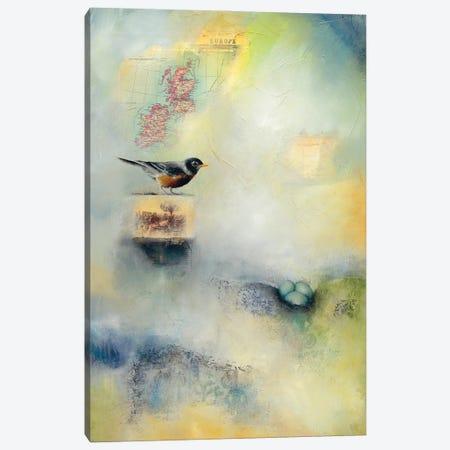 Robin's Nest Canvas Print #LLX7} by Lisa Lamoreaux Canvas Print