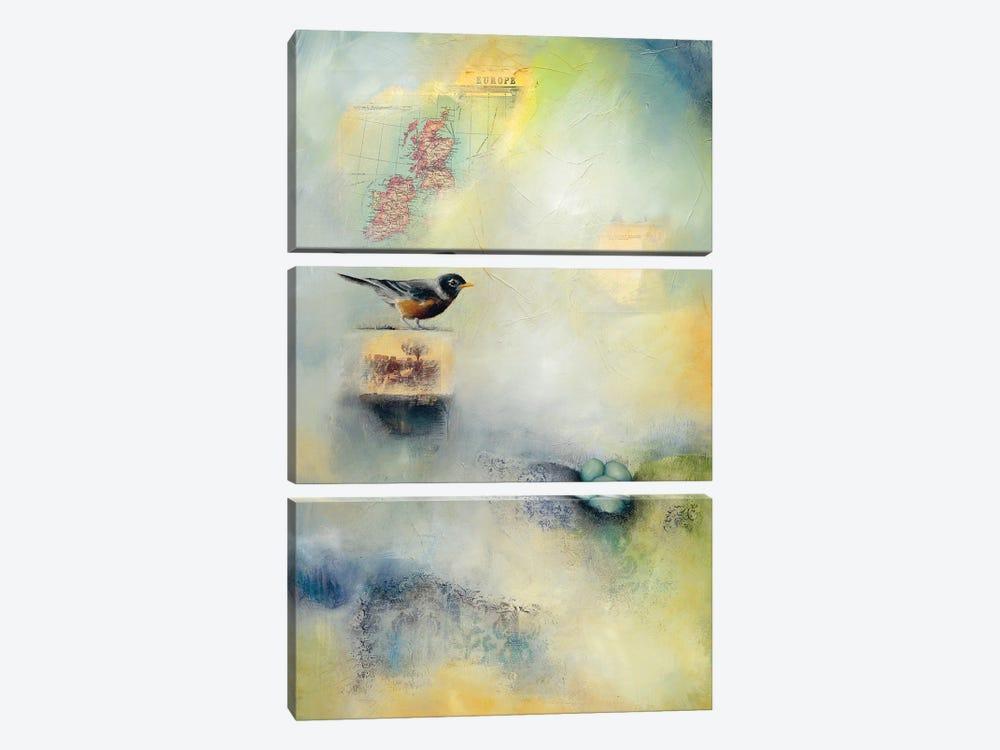 Robin's Nest by Lisa Lamoreaux 3-piece Art Print