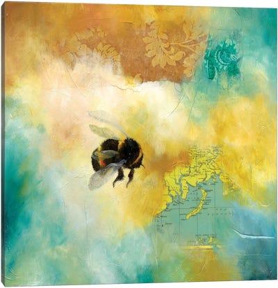 World Bee II Canvas Art Print