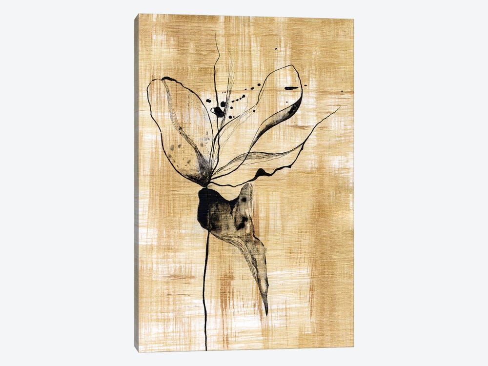Gilded Beauty II by Lily Liama 1-piece Canvas Art Print