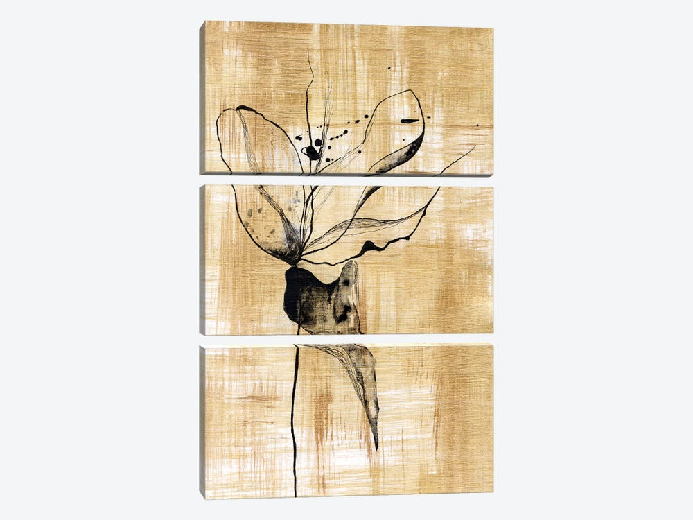 Gilded Beauty II by Lily Liama 3-piece Art Print