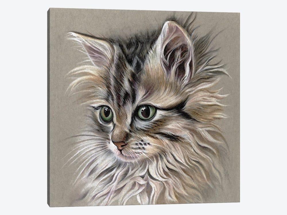 Kitten Portrait I by Lily Liama 1-piece Art Print