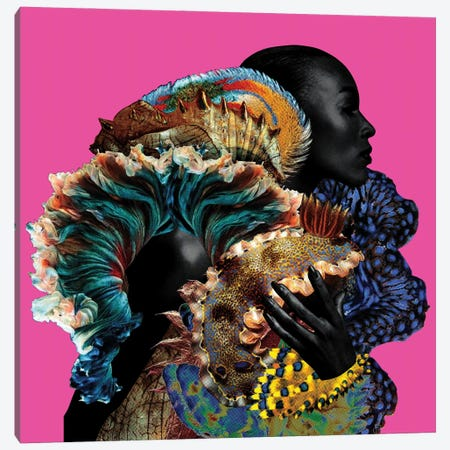 Erzulie Canvas Print #LLZ8} by Lolita Lorenzo Canvas Wall Art