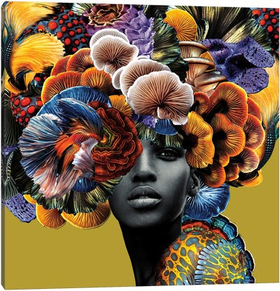 Good Hair Canvas Art Print
