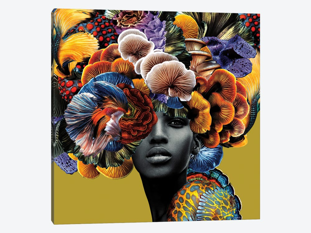 Good Hair by Lolita Lorenzo 1-piece Art Print