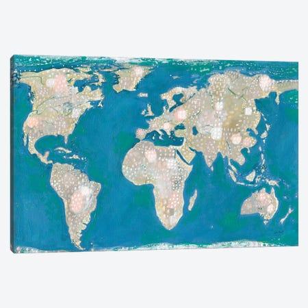 Artsy World Canvas Print #LMC12} by Lynn Mack Canvas Art Print