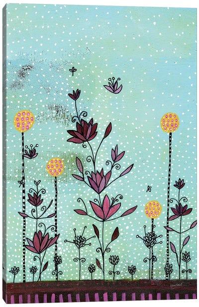 Floral Summer Canvas Art Print