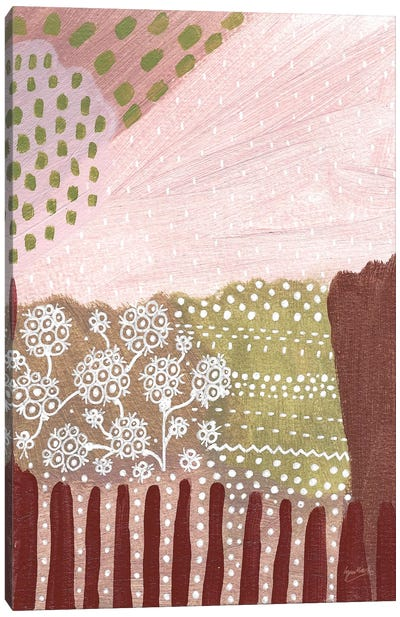 Salt Shrub I Canvas Art Print