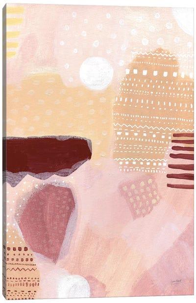 Terracotta Tribal Canvas Art Print