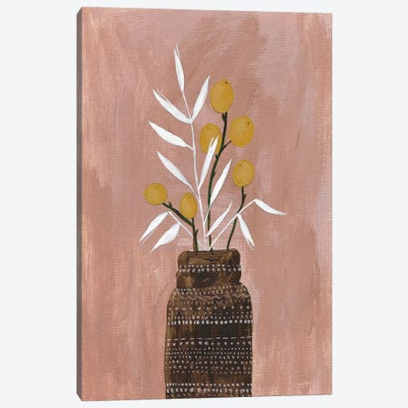 Seed and Bottle Canvas Print #LMC7} by Lynn Mack Canvas Artwork