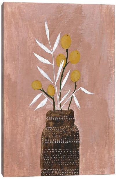 Seed and Bottle Canvas Art Print
