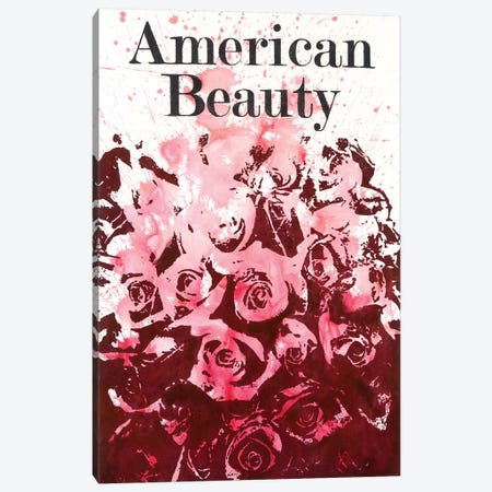 American Beauty II Canvas Print #LMD10} by Laura Mae Dooris Canvas Artwork