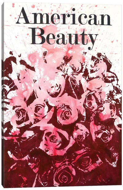 American Beauty II Canvas Art Print