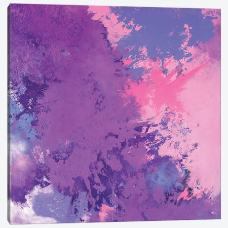 Blooming Sky Canvas Print #LMD11} by Laura Mae Dooris Canvas Wall Art