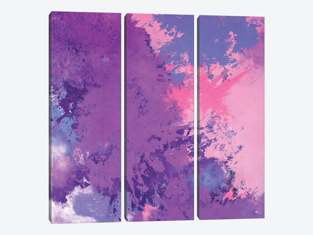 Blooming Sky by Laura Mae Dooris 3-piece Canvas Wall Art
