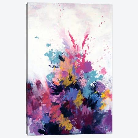 Flora Burst Canvas Print #LMD13} by Laura Mae Dooris Canvas Wall Art