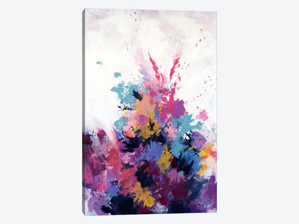 Flora Burst by Laura Mae Dooris 1-piece Canvas Art