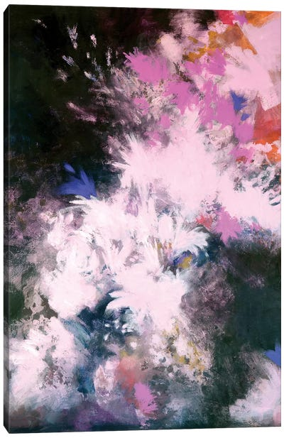 Interstellar Bloom Canvas Art Print