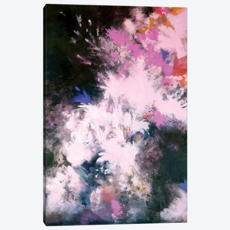 Interstellar Bloom Canvas Print #LMD14} by Laura Mae Dooris Canvas Print
