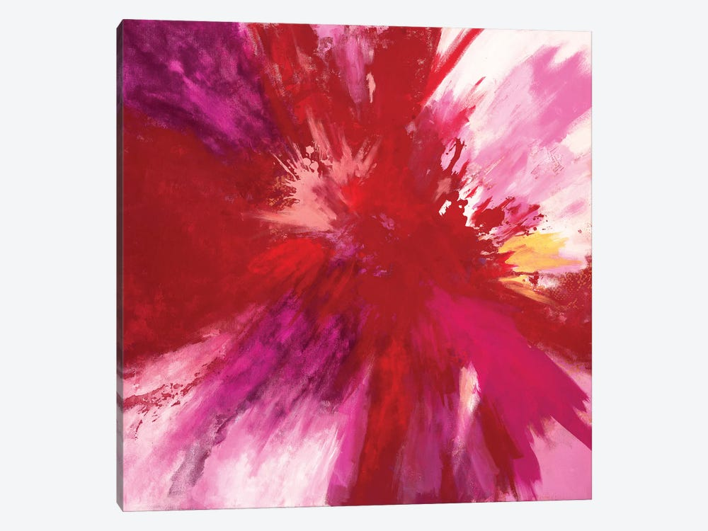 Passion Smash by Laura Mae Dooris 1-piece Canvas Art Print