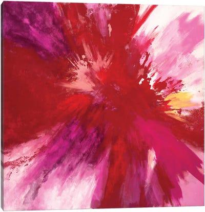 Passion Smash Canvas Art Print