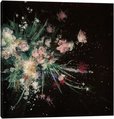 Petal Bomb Canvas Art Print