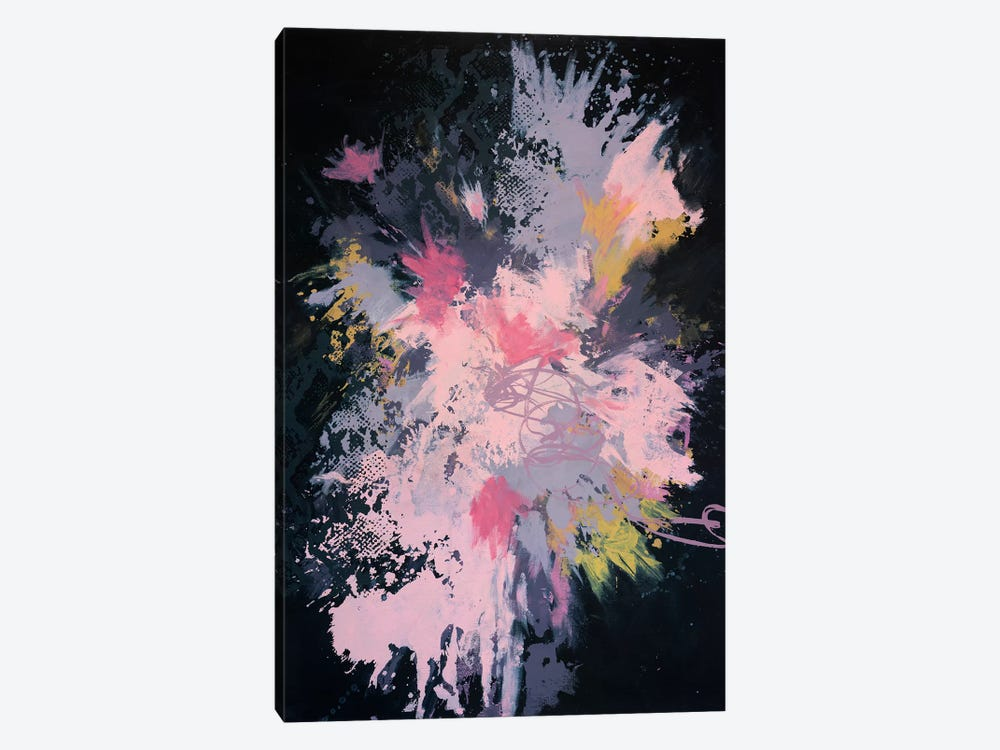 Raw Punch Release by Laura Mae Dooris 1-piece Canvas Print