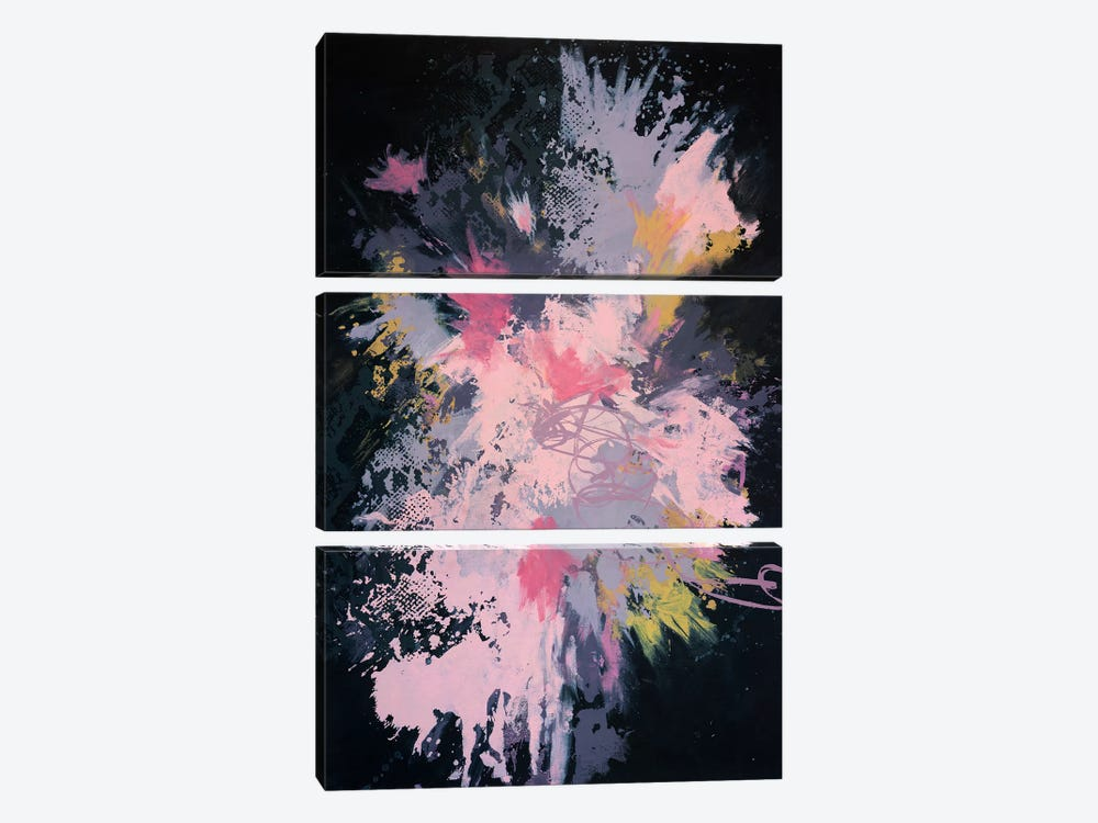 Raw Punch Release by Laura Mae Dooris 3-piece Art Print