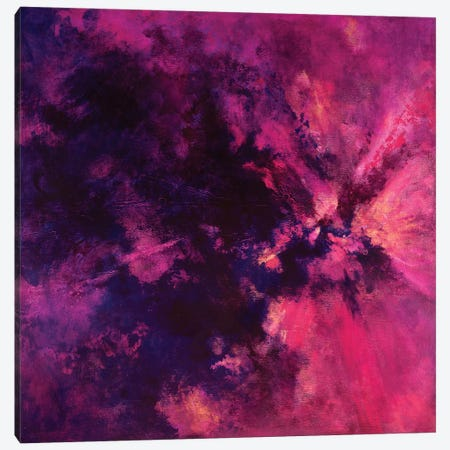 Spirit Bloom Canvas Print #LMD19} by Laura Mae Dooris Canvas Art