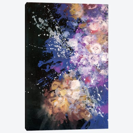 Twilight Pop Burst Bomb Canvas Print #LMD23} by Laura Mae Dooris Art Print