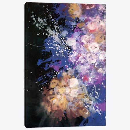 Twilight Pop Burst Bomb Canvas Print #LMD23} by Laura Mae Dooris Art Print
