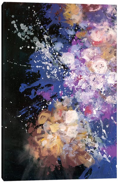 Twilight Pop Burst Bomb Canvas Art Print