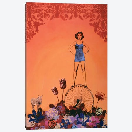 Carnivale Canvas Print #LMD24} by Laura Mae Dooris Canvas Artwork
